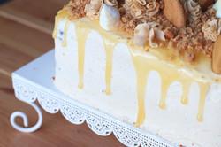 Sticky Lemon and Ginger Loaf Cake
