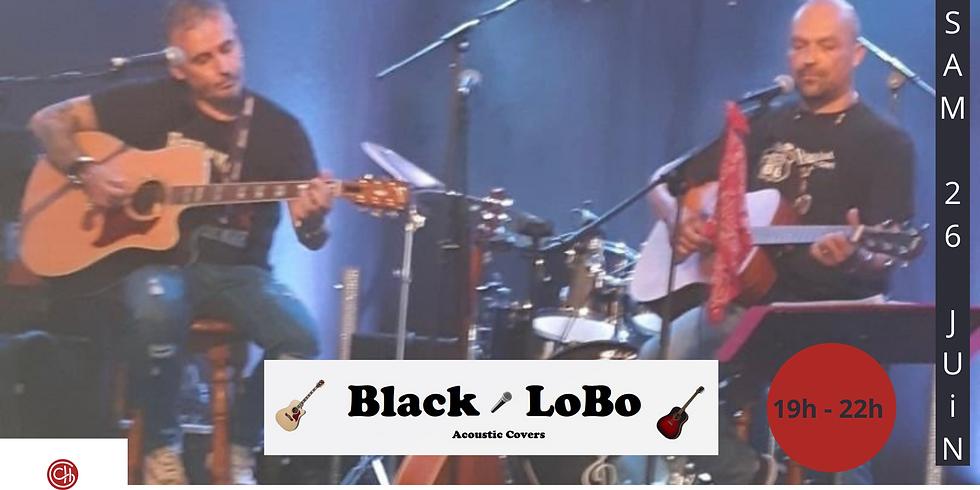 Concert Black LoBo (Pop Rock Acoustique)