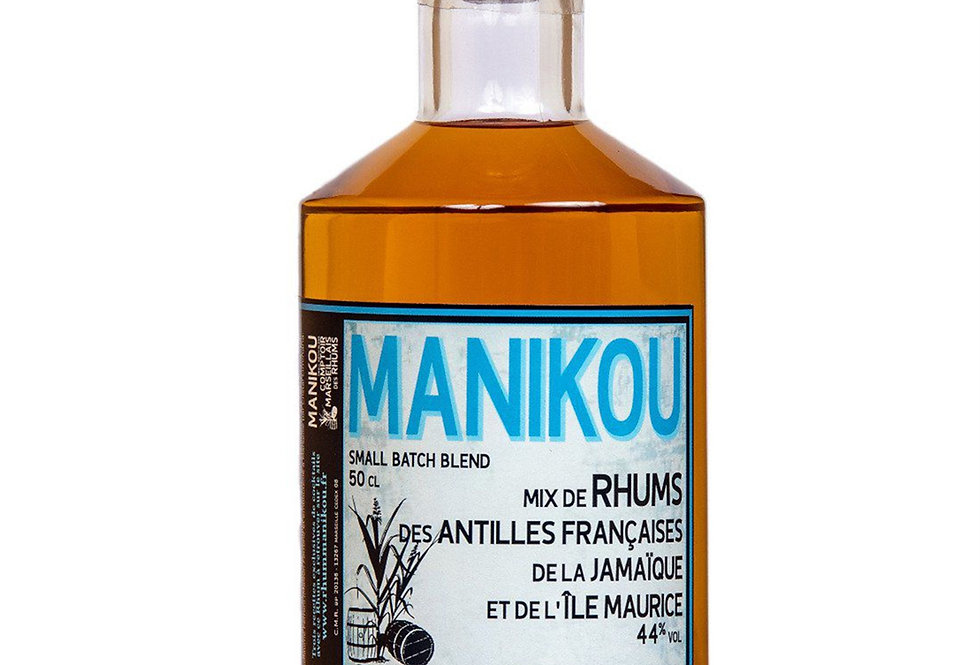 Rhum MANIKOU 44°, 50 cl, Small Batch Blend