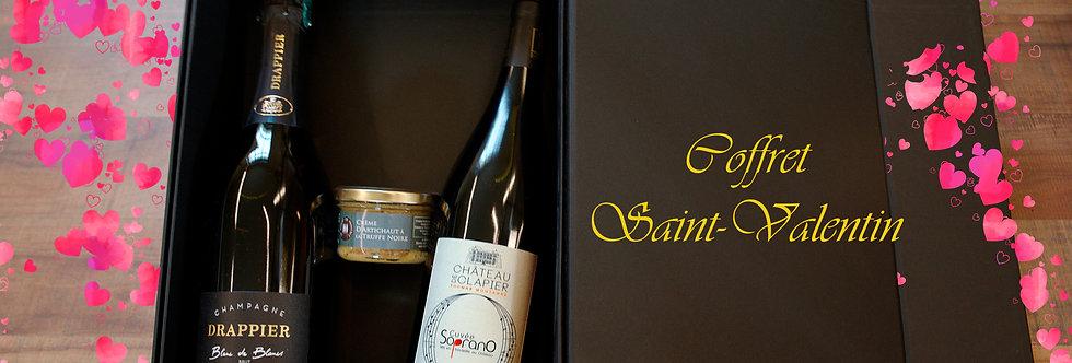 Coffret Romanesque : Champagne + Vin rouge + Crème d'artichaut & Truffe noire