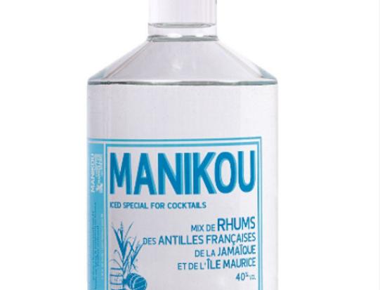Rhum MANIKOU, 40° ICED 70cl, spécial Cocktails