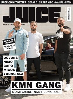Juice Cover 181 - KMN Gang