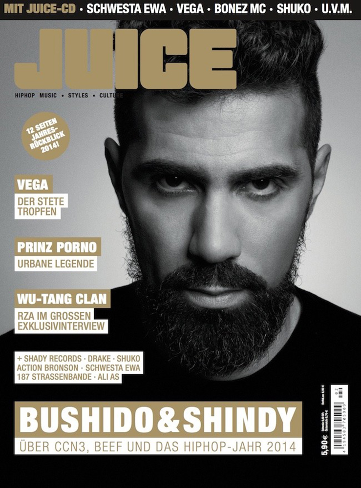 Juice Cover 164 - Bushido