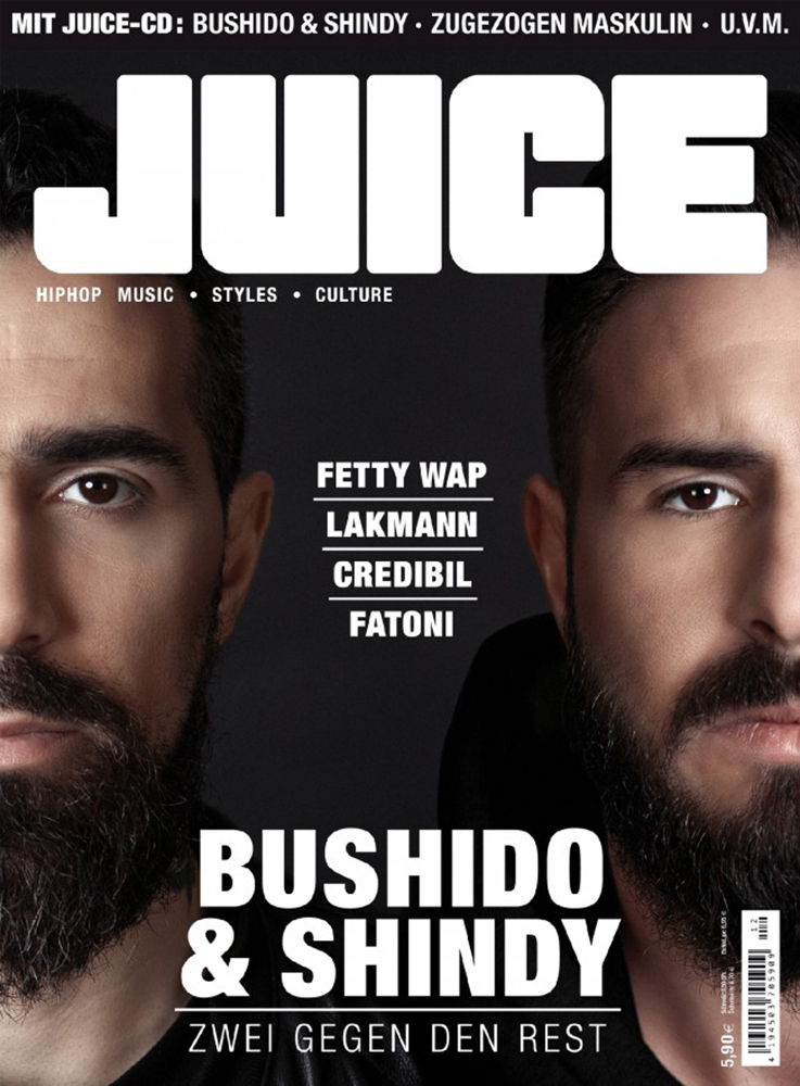 Juice Cover 171 - Bushido & Shindy