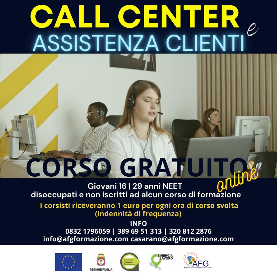 CALL CENTER e ASSISTENZA CLIENTI