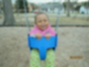 I love the swing Mommy!!