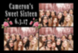 Camerons's Sweet 16