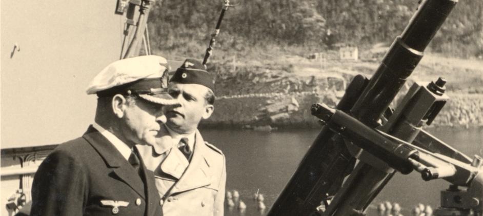 Kommandanten på Tirpitz