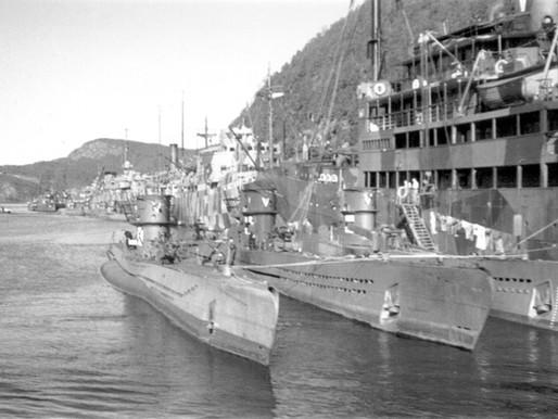 Angrepsøvelser i Trondheimsfjorden