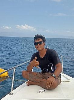 Dive boat Nusa Penida Purple Dive