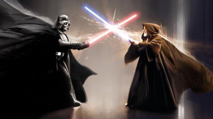 Jedi fight