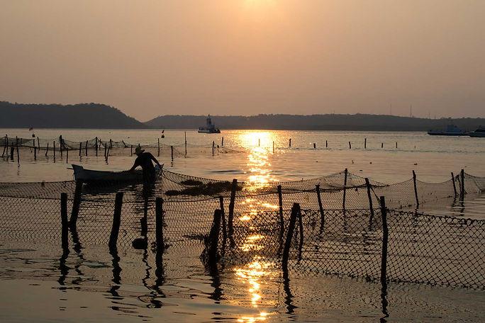 Sunset in Nusa Penida