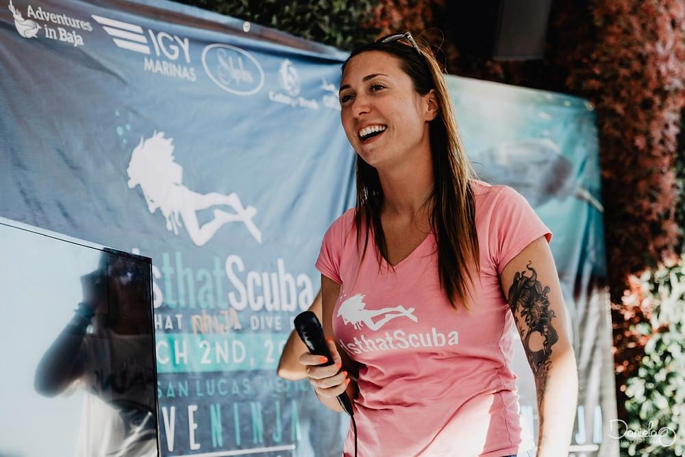 Sarah Richards girls that scuba