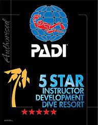 PADI 5 star IDC resort