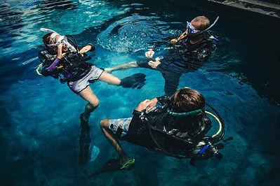 Divemaster training Nusa Penida
