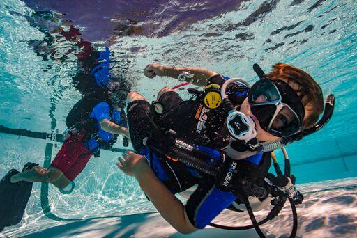 Diving with children in Nusa Penida