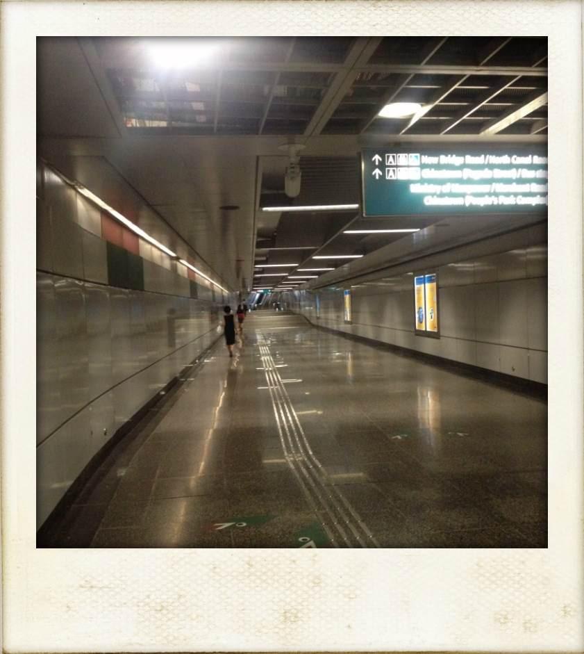 Des graaaands couloirs de métro