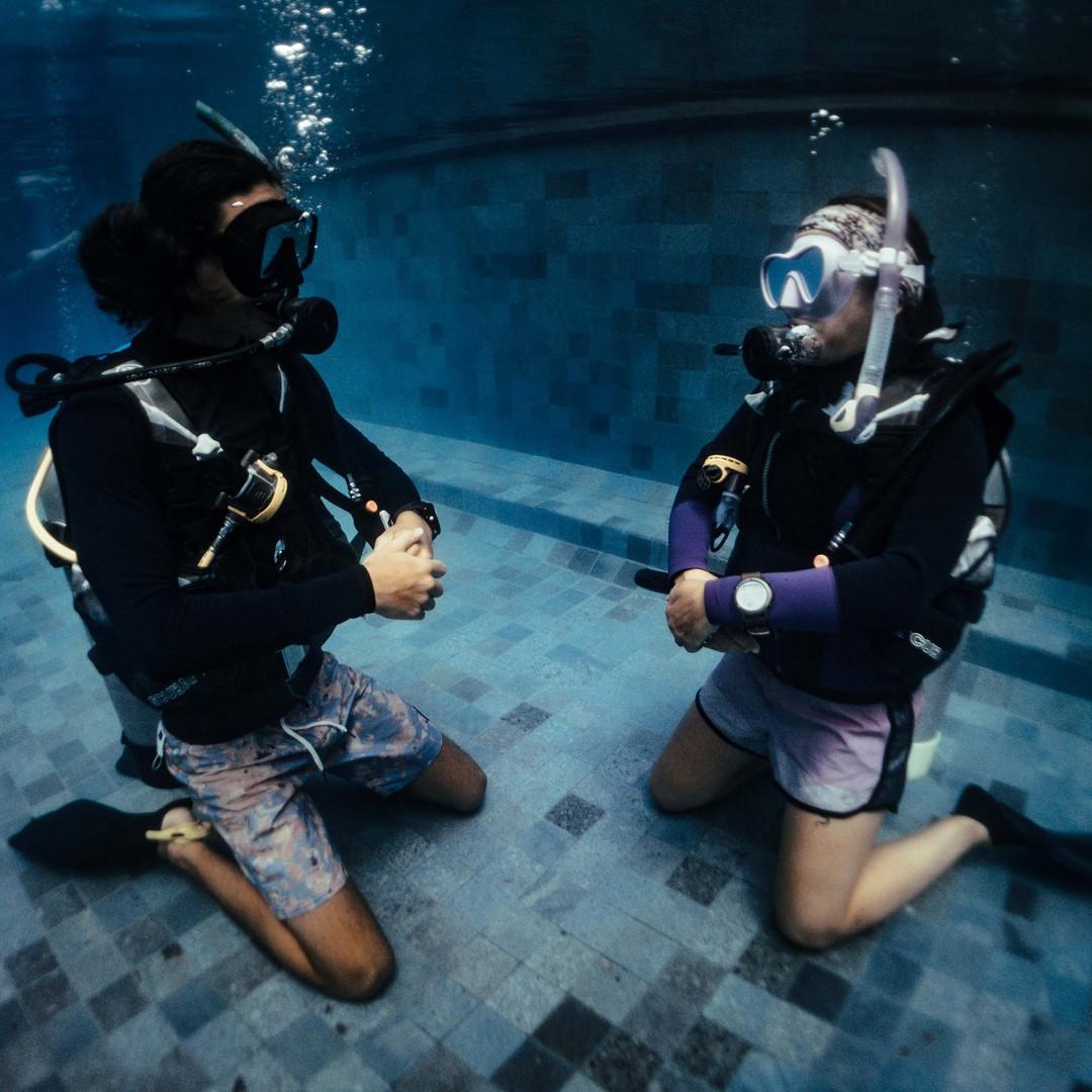 Open Water course Nusa Penida