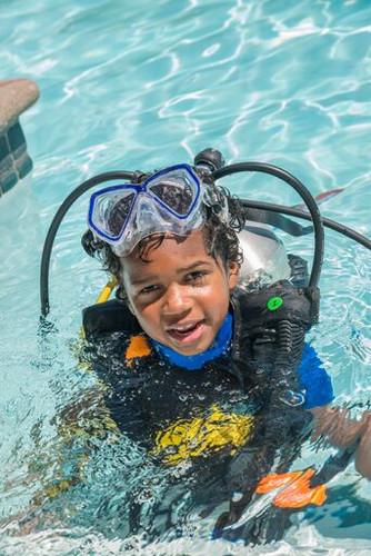 Scuba diving for kids in Bali