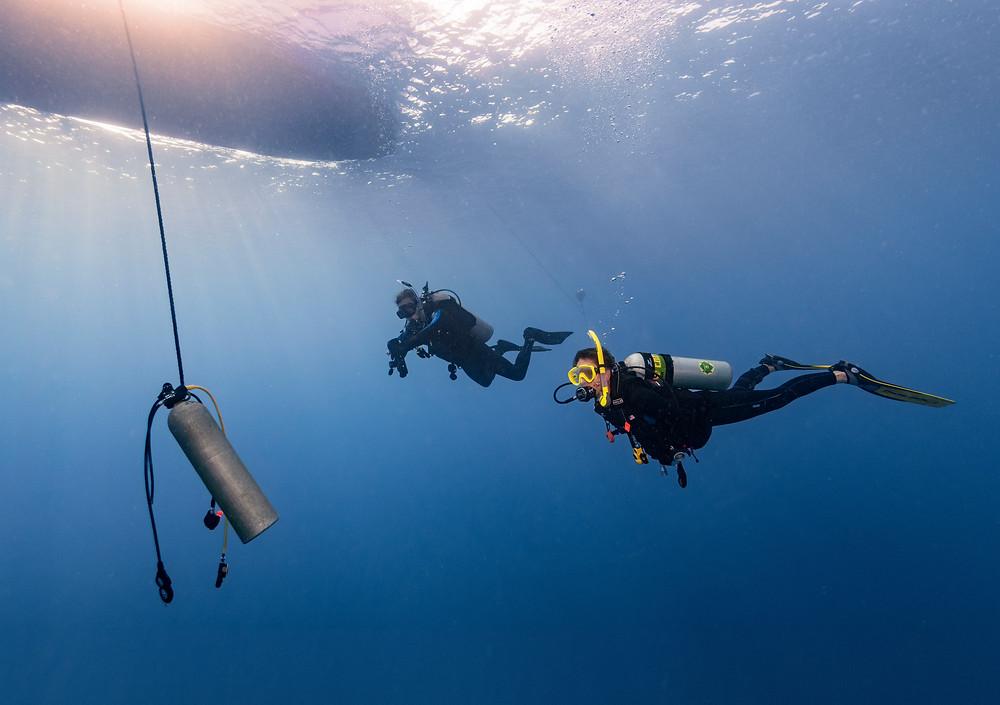 PADI Deep Diver specialty skills