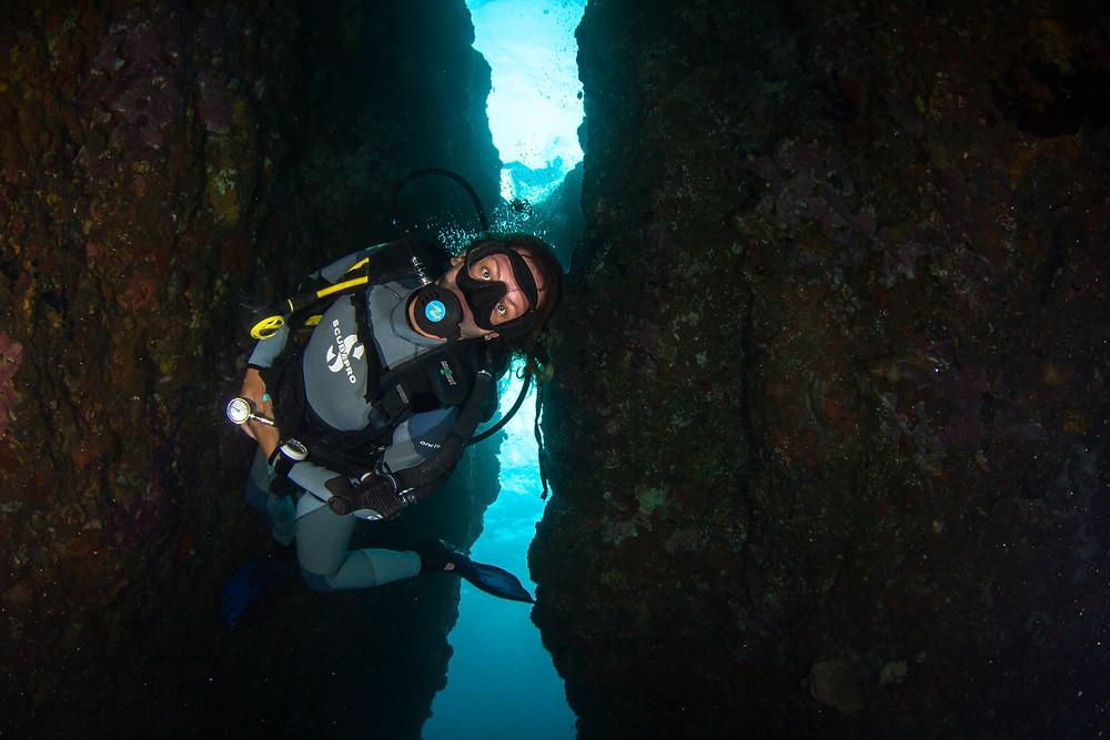Purple Dive Nusa Penida - diving Crystal Bay