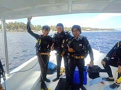 Dive team Purple Dive Nusa Penida