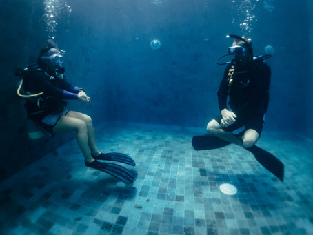 Are flirting and scuba diving mutually exclusive?