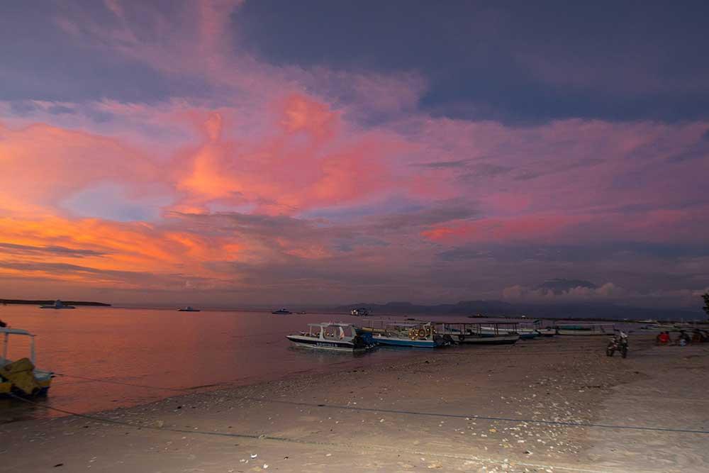 Sunset Penida
