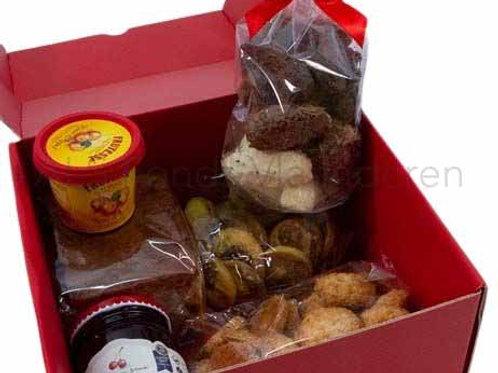 Geschenkdoos met zoetigheden