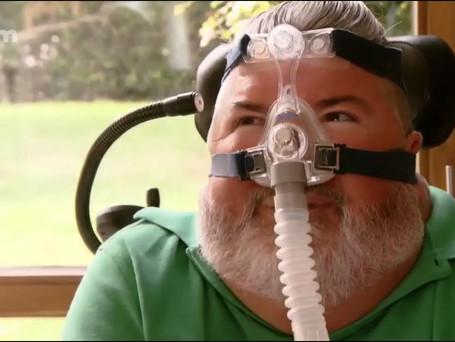Alloo en de liefde: interview van ALS-patiënt Alain Verspecht