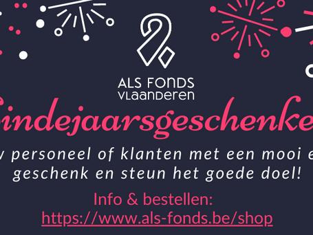 Koop een eindejaarsgeschenk voor je personeel en/of klanten en steun het goede doel!