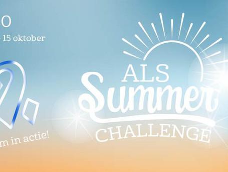 ALS Summer Challenge, bewegen voor het goede doel!