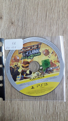 ratchet et clank all 4 one