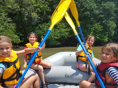 Rafting the Chattahoochee River