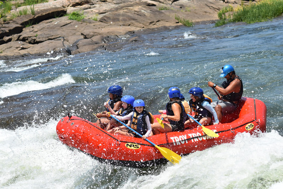 Rafting the Chattahoochee