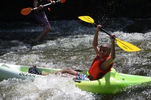 Kayaking the Chestatee River
