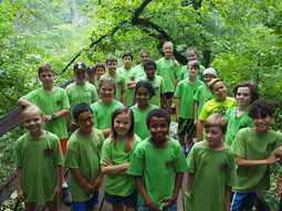 Hiking at Sweetwater Creek State Park