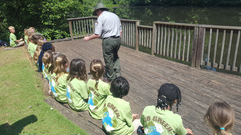 Learning from a national park ranger