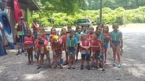 Canoeing at the Chestatee River