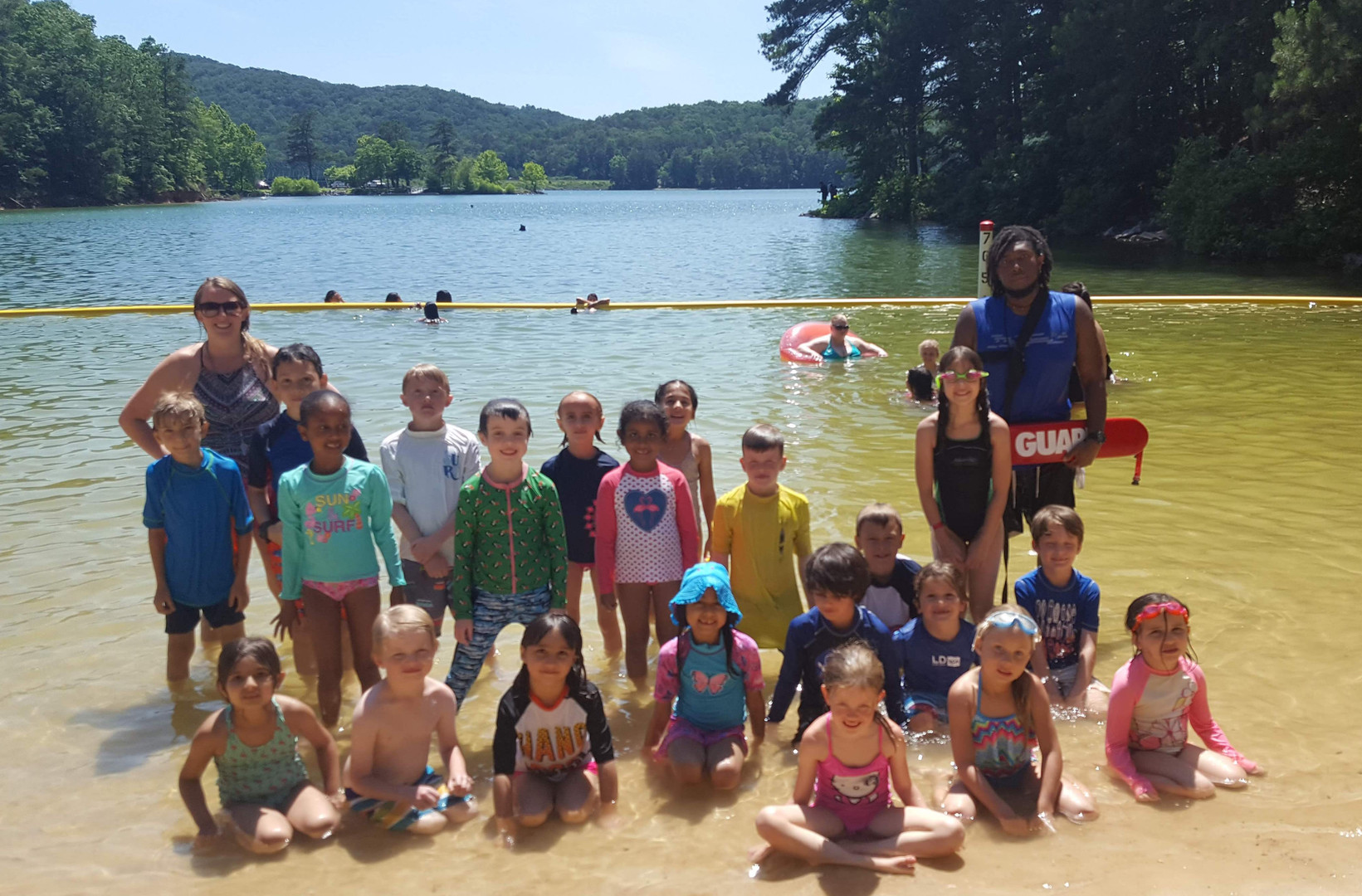 Swimming at Lake Allatoona