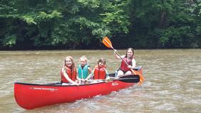 Canoeing the Chestatee
