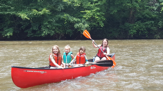 Canoeing the Chestatee