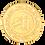 Thumbnail: 24kt Gold coin 10 gram