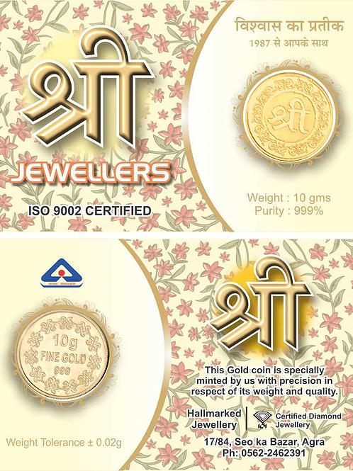 24kt Gold coin 10 gram