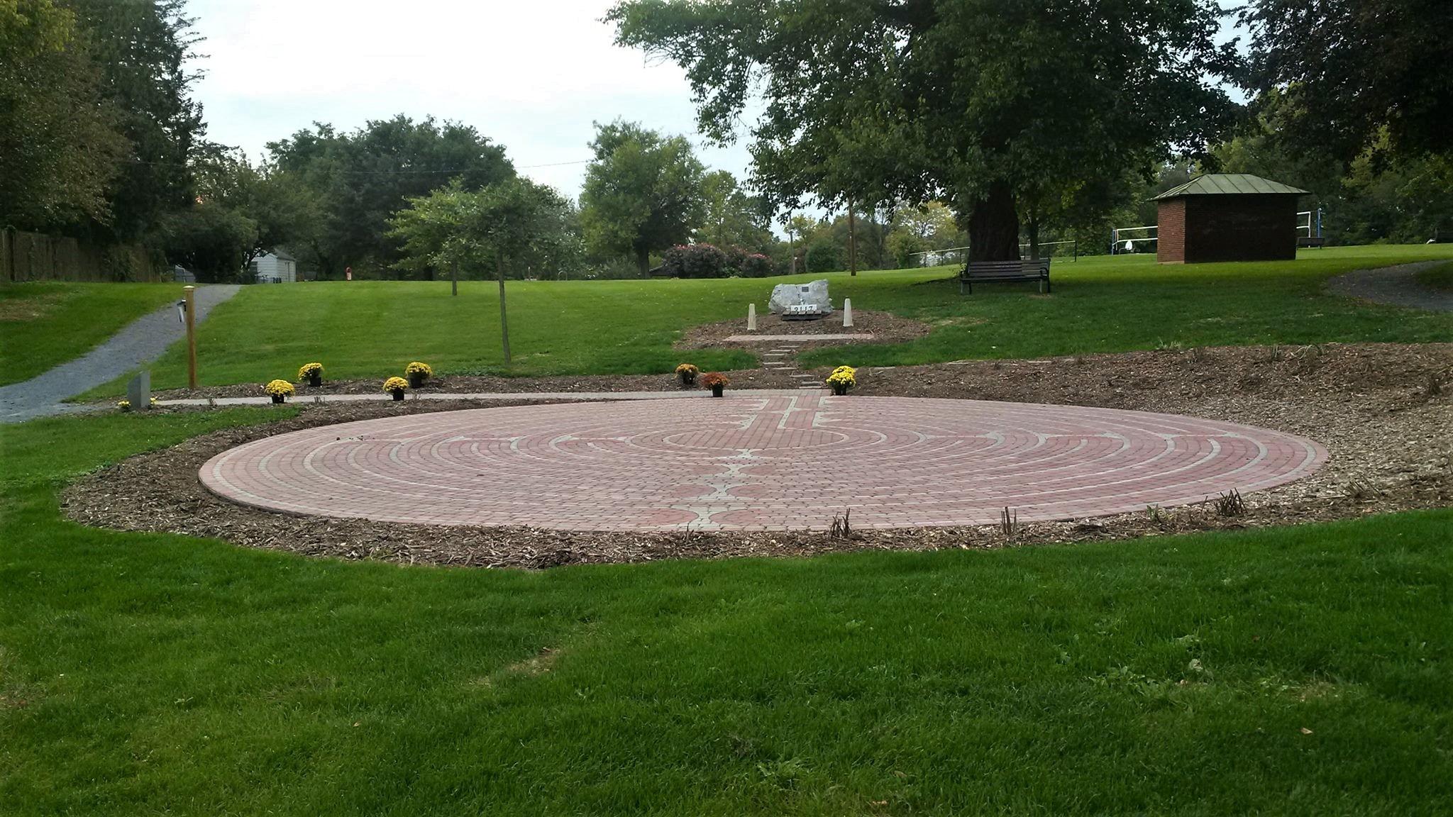 Mindfulness Meditation Pennsylvania Biddle Mission Park Labyrinth