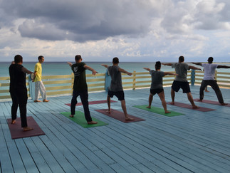 MC Veteran-Students Visit Yoga Ashram