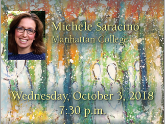 "Saracino Discusses ""Intimate Wilderness"" at Fairfield University"