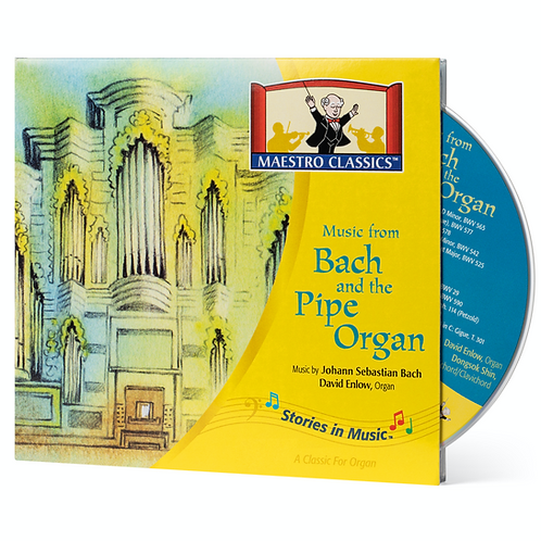 Music from Bach and the Pipe Organ CD