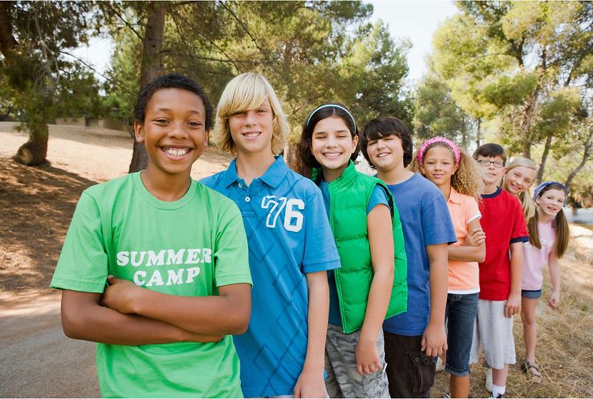 kids at summer music camp