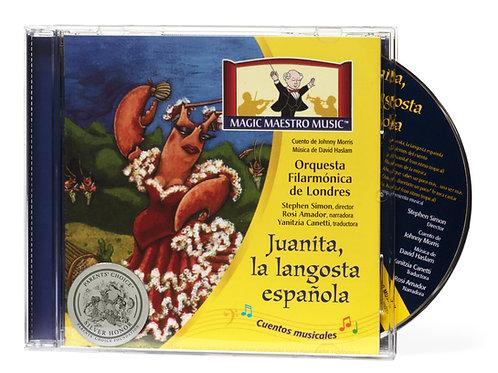 Juanita la langosta española CD (In Spanish)